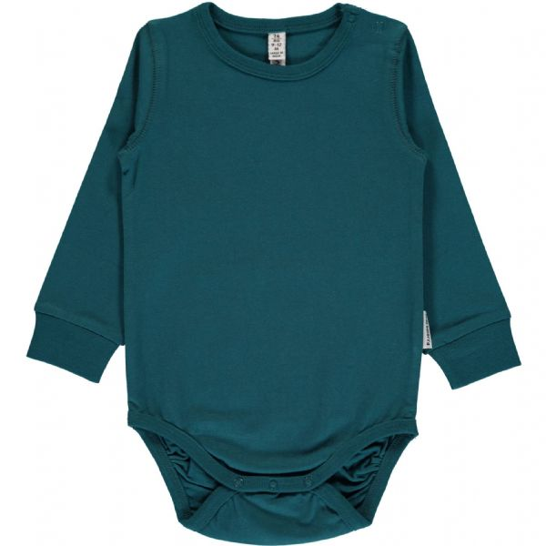 Maxomorra Long Sleeve Body Petrol